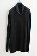 【予約】OURET 17AW HIGH NECK LONG SLEEVE BLACK