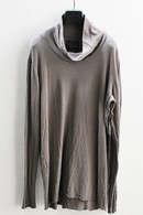 【予約】OURET 17AW HIGH NECK LONG SLEEVE GRAY