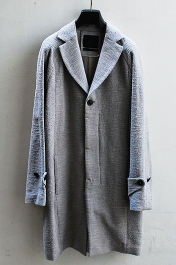 【予約】OURET 17AW RAGLAN SLEEVE CHESTER COAT D.WHITE