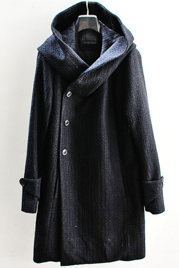 【予約】OURET 17AW BIG HOOD COAT BLACK