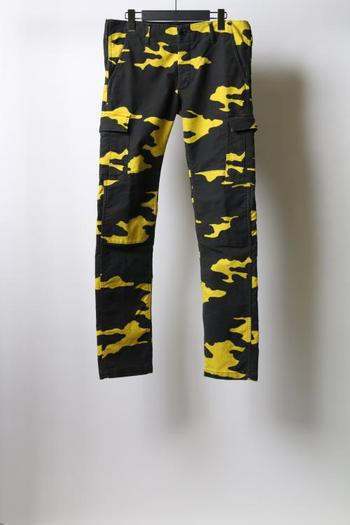 【予約】wjk 17WT tight F-army yellow camo