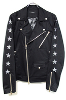 【予約】OVERDESIGN 17FW NAUTICAL STAR W RIDERS JK BLAC