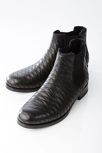AKM 17AW DIA SIDE GOA BOOTS BLACK