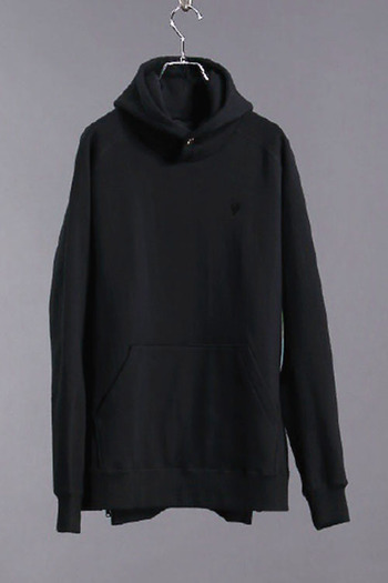 LUXE163AKMBB 17AW BIG PULLOVER PARKA BK