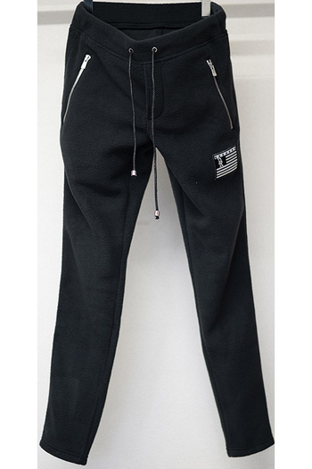 【予約】RESOUND CLOTHING 17WT fleece PT BLACK_rc76