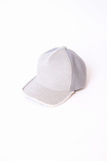 wjk 18SP cut-off mesh cap t.gray_wj81