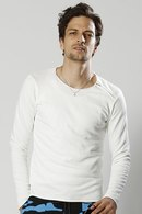 wjk 18SP cut-off sweat white_wj81