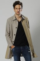 【予約】wjk 18SP stain collar coat beige_wj81