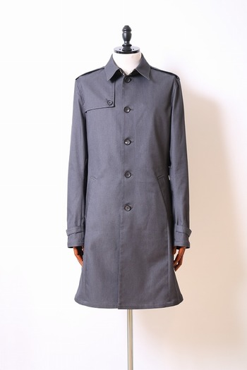 【予約】wjk 18SP single trench  charcoal_wj81