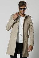 【10%OFF+ポイント15倍】wjk 18SP single trench  beige_wj81