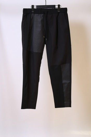 【予約】wjk 18SP remake crazy trousers black_wj81