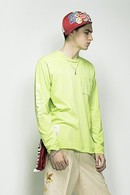 【特先】SEVESKIG 18SS NEON COLOR LONG SLEEB T_sv82
