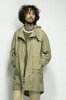 【特先】SEVESKIG 18SS HOODED LIGHT COAT_sv82