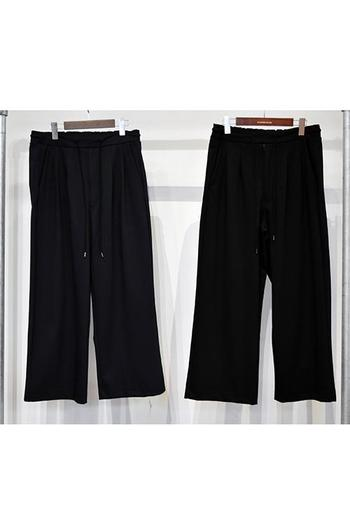 【予約】DBSS 18SS Uncle cut wide  pants_db82