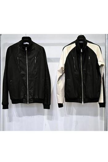【予約】DBSS 18SS Bonding deerskin track jacket _db82