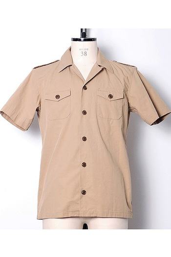 【特先】junhashimoto 18SM TROPICAL ARMY SHIRTS_jh83