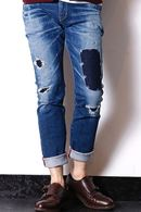 【特先】junhashimoto 18AW Ⅴ POCKET DENIM_jh85