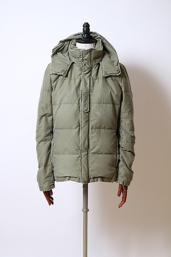 【予約】wjk 18AW military down parka_wj85
