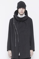 【予約】JULIUS 18PF WRAPPING HOODED COAT_ju84