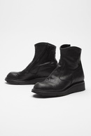 【予約】JULIUS 18PF SIDE ZIP ELEVATOR BOOTS_ju84
