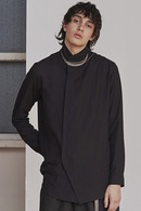 【予約】JULIUS 18PF HIGH NECK SHIRT_ju84