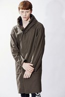 【予約】ATM7 18AW RAP HOODED RELAX COAT MUJI A_am85