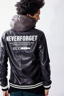 【予約】ATM7 18AW S.LEATHER PARKA NEVER FORGET_am85