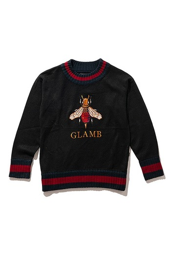 【予約】glamb 18AT Brain bee knit_gb84