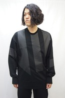 【ポイント10倍】NILoS 18FW Kamon Sweat T Shirt_ns85