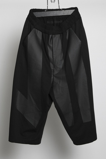 【予約】NILoS 18FW Kamon Cropped Pants_ns85