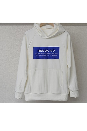 【予約】RESOUND 18AT CUPURA inlay P/O Hoodie_rc84