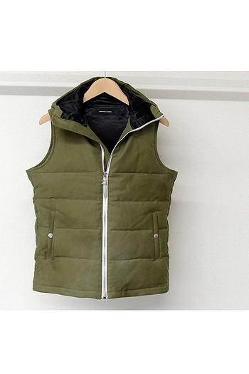 【予約】RESOUND 18AT solid Down VEST_rc84
