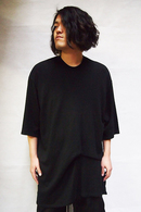 JULIUS 18FW Shirring T Shirt_ju85