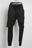 【予約】JULIUS 18FW Combination Chaps Pants_ju85