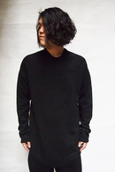 【予約】JULIUS 18FW Damaged Seamed T Shirt_ju85