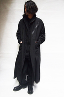 【15%OFF+ポイント40倍】JULIUS Slashing Over Coat_ju85