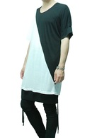 MiDiom 18SS Slash Bicolor Cut&Sewn_md82