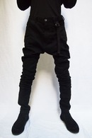 【ポイント10倍】JULIUS 19PS TWISTED SKINNY PANTS_ju91