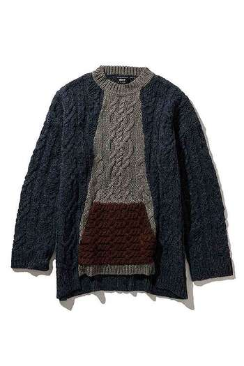 glamb 18WT Union cable knit_gb86