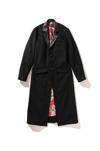 【予約】glamb 18WT Floria long chester coat_gb86