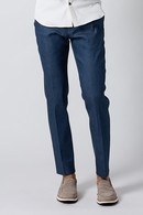 【特先】wjk 19SP denim slacks_wj91