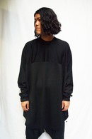 【予約】NILoS 19SS LINE SLEEVE EXTRA BIG T-SHIRT_ns92