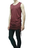 MiDiom Side Shirring Tank Top_md85