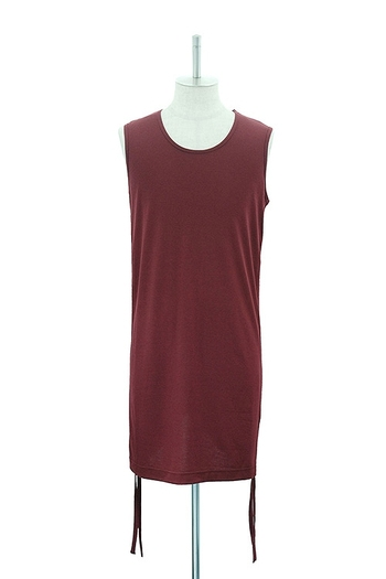 MiDiom 18AW Side Shirring Tank Top_md85