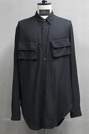 JULIUS 19PF MILITARY SHIRT_ju94