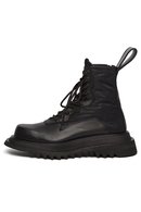 【5%OFF】JULIUS 19FW OVERRACING COMBAT BOOTS_ju95