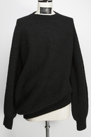 【予約】JULIUS 19FW DRAPING SWEATER_ju95