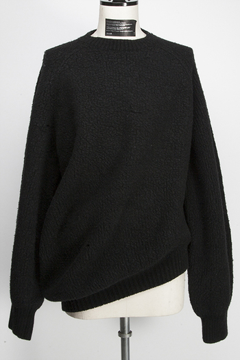 【10%OFF+ポイント10倍】JULIUS 19FW DRAPING SWEATER_ju95