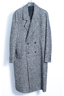 【予約】junhashimoto 19AW DOUBLE CHESTER COAT_jh95