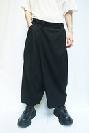 【予約】JULIUS 20PS FOLDED BAGGY TROUSERS_jua1